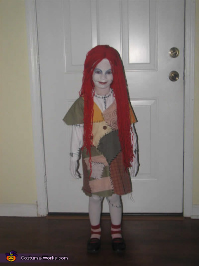 homemade sally costume - Sally Nightmare Before Christmas Wig