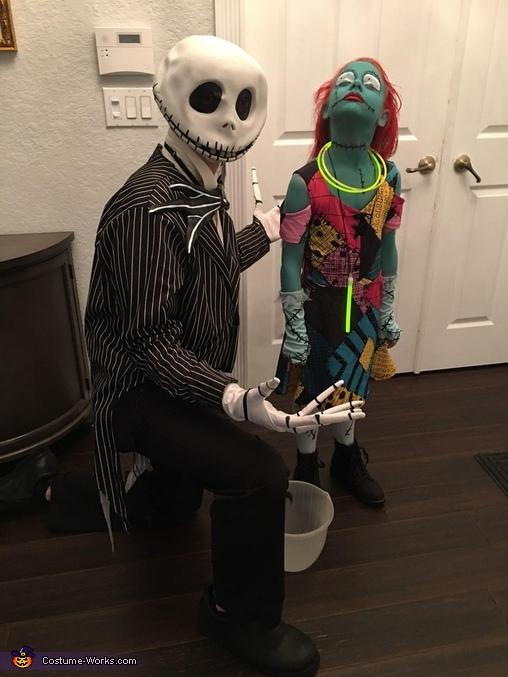 Sally and Jack Skellington Costume