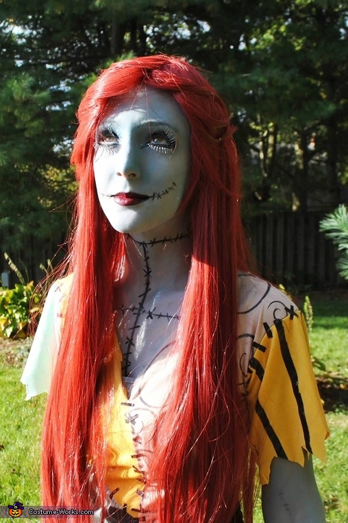 sally from nightmare before christmas costume - Sally Nightmare Before Christmas Wig