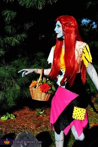 Full costume, Sally from Nightmare Before Christmas Costume