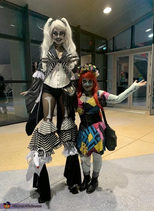 Sally & Lady Jack Skellington Costume