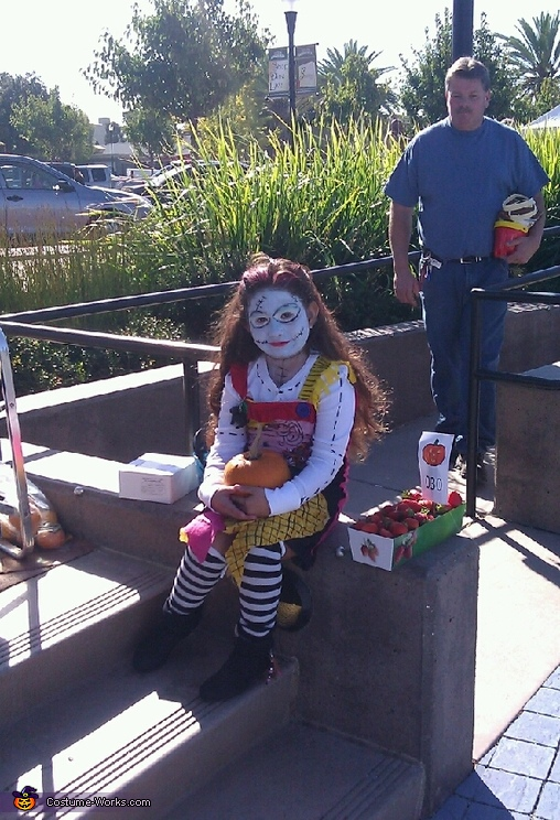 Sally Nightmare Before Christmas Homemade Costume