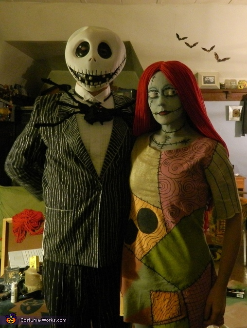 Jack and Sally, Sally Skellington Costume