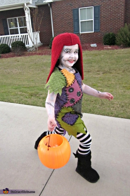Sally Skellington Costume