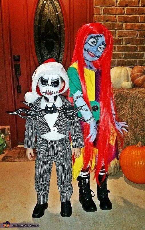 Sally Skellington Homemade Costume