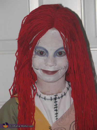 Sally Smiles, Homemade Sally Costume