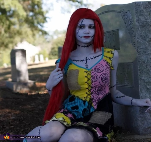 Sally Stitches Costume