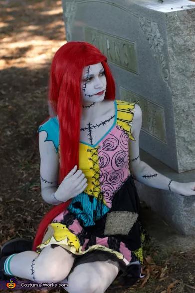 Sally Stitches Homemade Costume