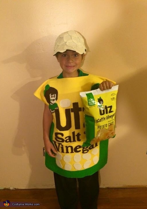 Salt and Vinegar Chips Costume