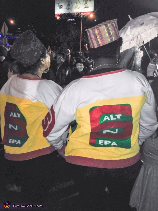 Back, Salt n Pepa Costume