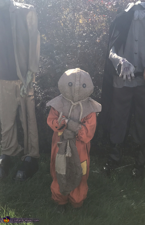 Happy Halloween 👻, Sam from Trick r' Treat Costume