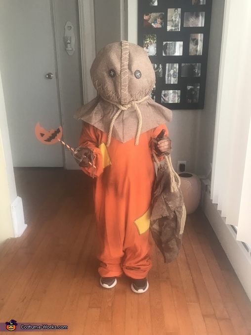 I'm coming to get you, Sam from Trick r' Treat Costume