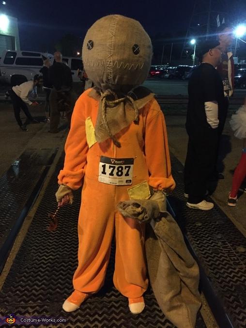 Sam the Demon Trick-or-Treater Costume