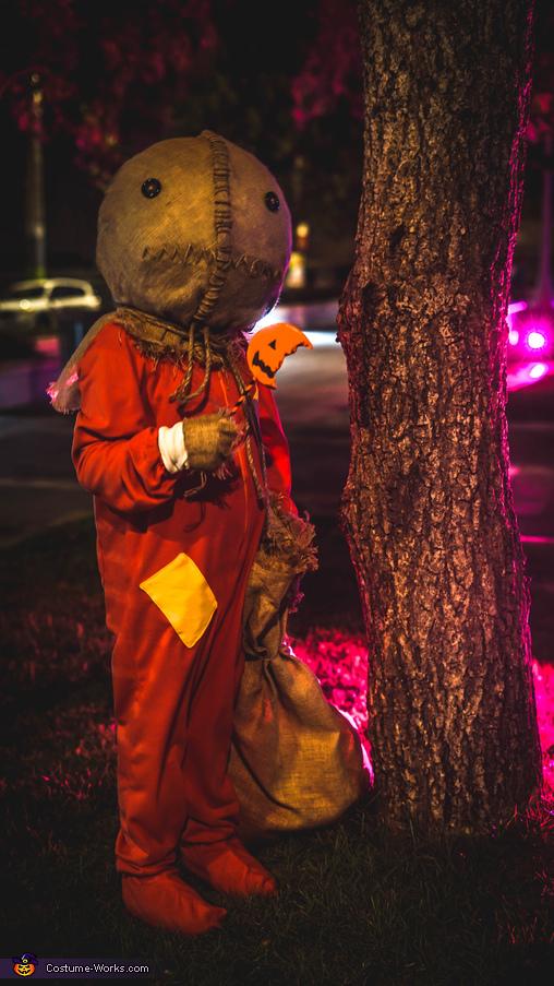 Sam the Pumpkin Head Costume