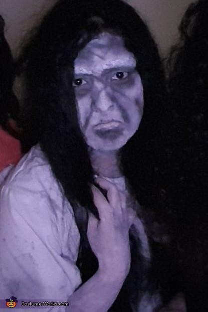 Samara from Rings movie Homemade Costume