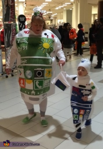 Samsung Cell Phones Costume