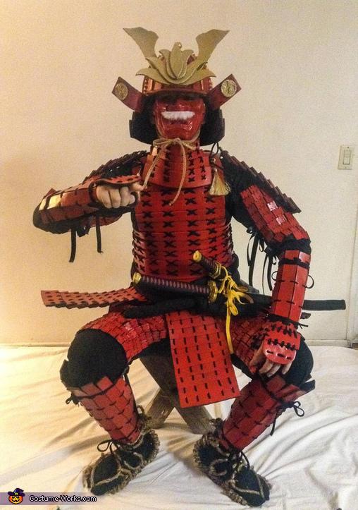 Samurai Homemade Costume
