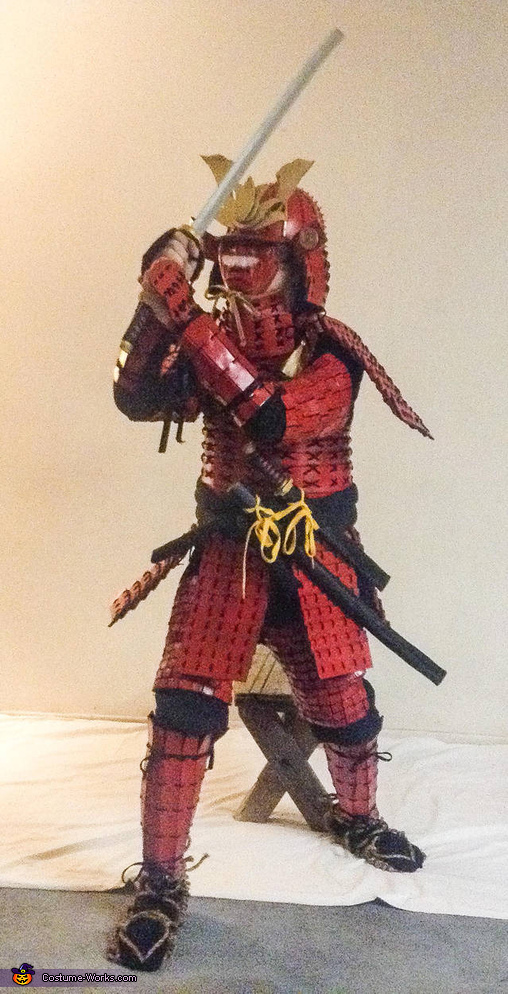 Samurai Homemade Costume