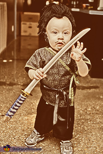 Samurai Baby Homemade Costume