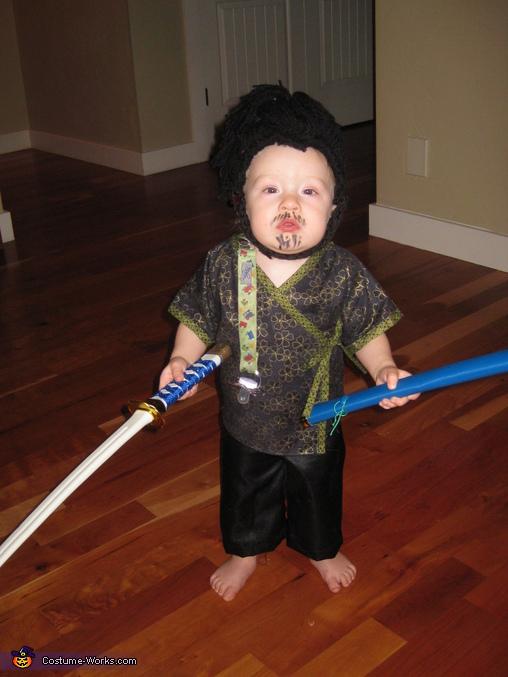 Samurai Baby Costume