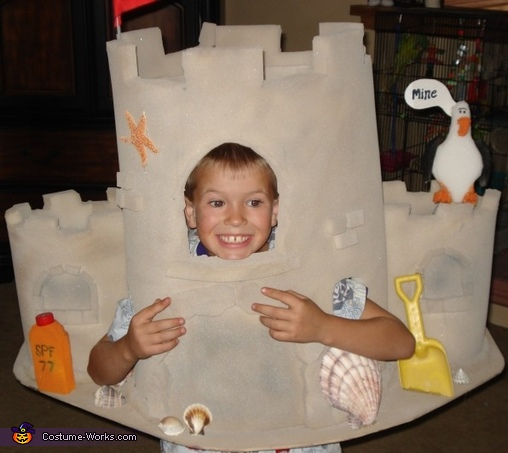 Sandcastle Costume