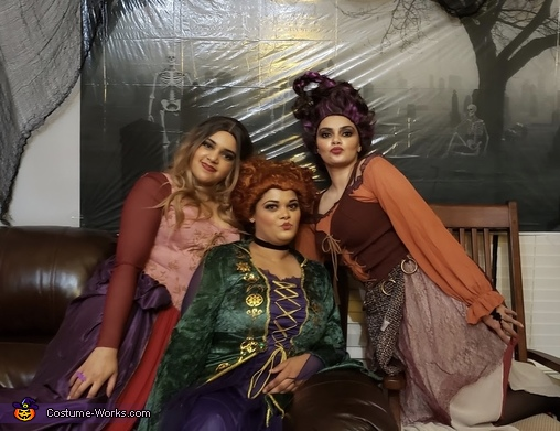 I'll put a spell on you and now you're mine!, Sanderson Sisters Costume
