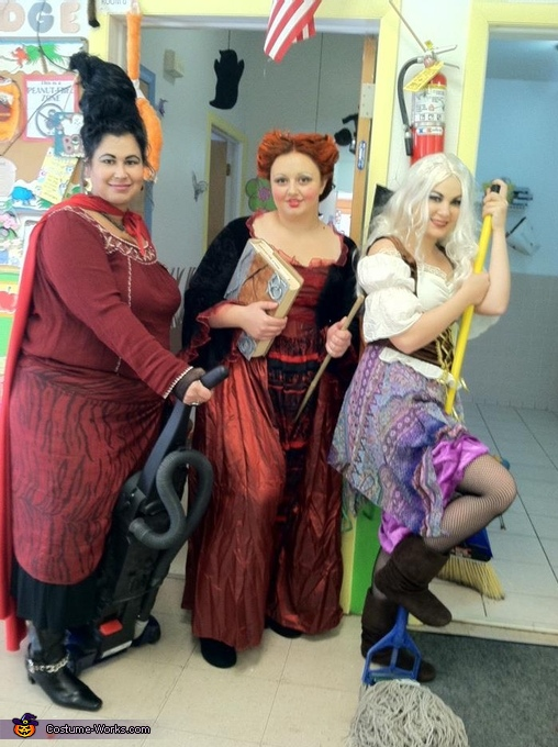 Sanderson Sisters - Homemade costumes for groups