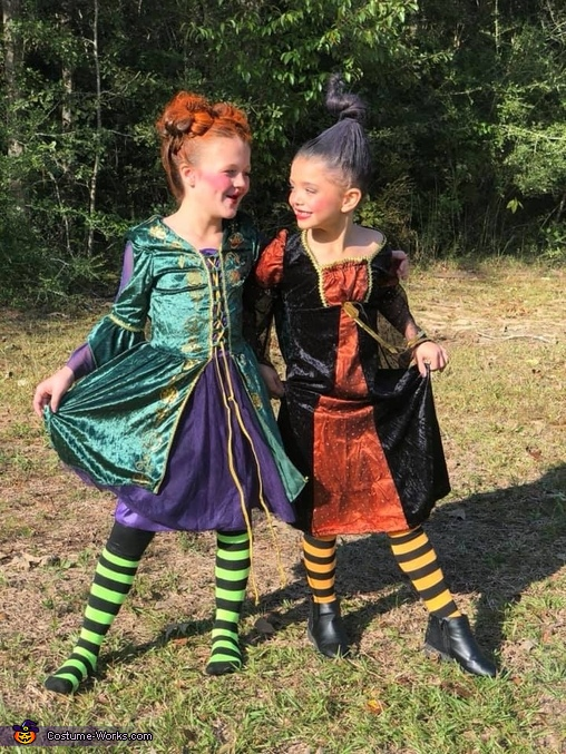 Sisters for life, Sanderson Sisters Costume