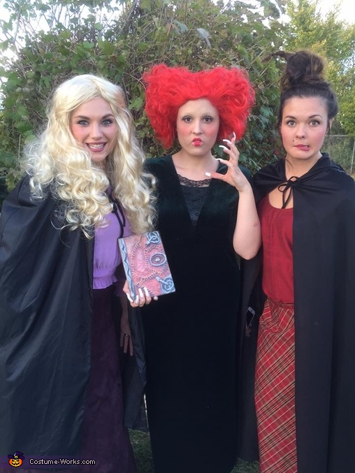 Sanderson Sisters Halloween Costume Idea