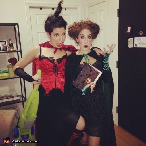 Mary and Winnie Sanderson, Sanderson Sisters from Hocus Pocus Group Costume