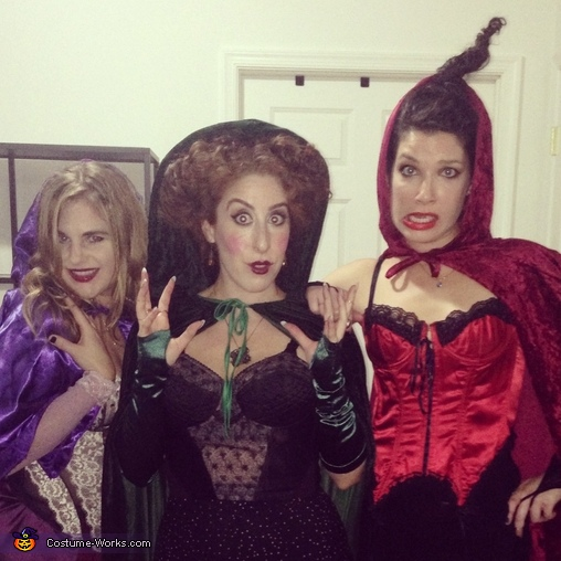 It's just a bunch of Hocus Pocus!, Sanderson Sisters from Hocus Pocus Group Costume