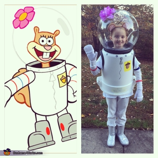 SpongeBob Sandy Costume