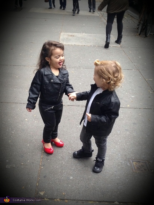 Grease Sandy and Danny Baby Costume