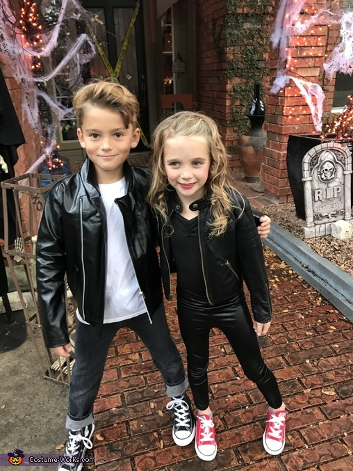 Sandy and Danny from Grease Homemade Costume