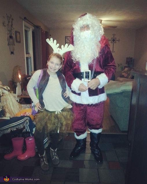 Santa and his Reindeer Costume