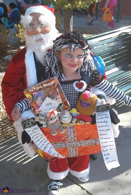 Santa with Box of Toys Costume