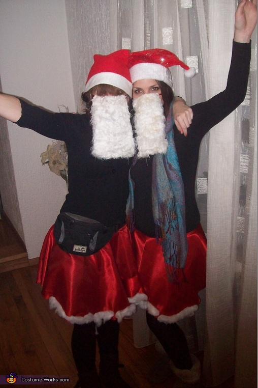 Homemade Santas Group Costume