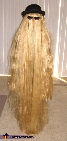 Cousin Itt Adams Family - Homemade costumes for adults