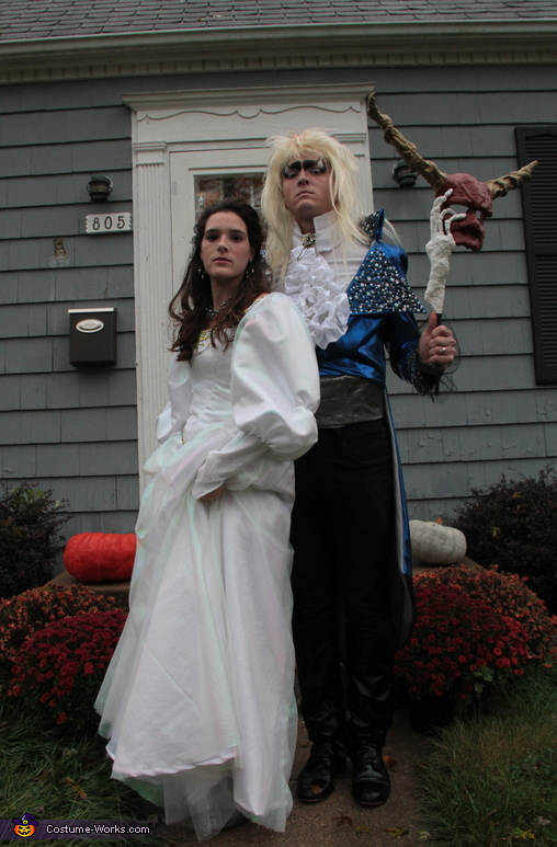 Sarah and Jareth The Goblin King Costume
