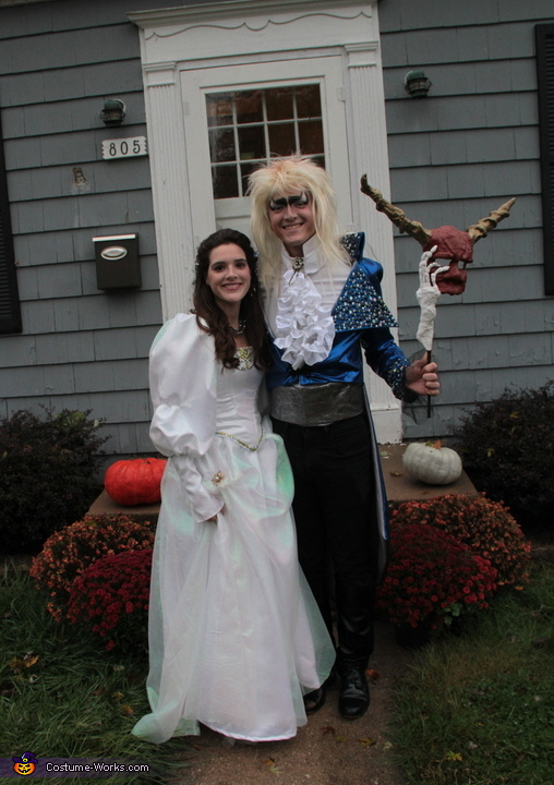 Sarah and Jareth The Goblin King Homemade Costume