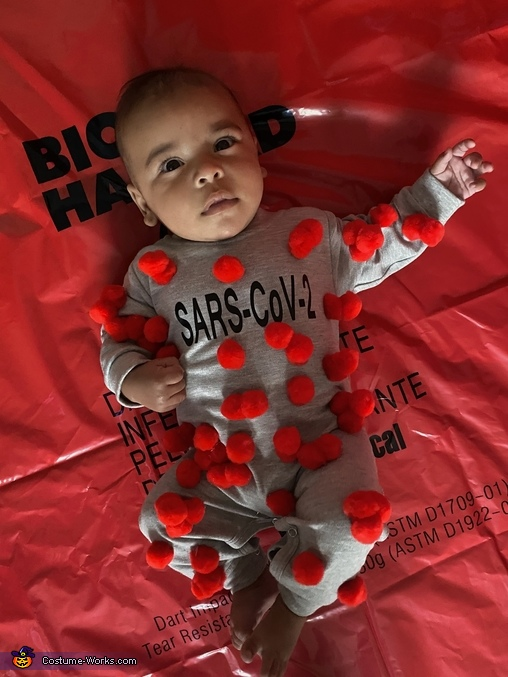 Baby SARS-CoV-2 Cell, SARS-CoV-2 And The Scientist Costume