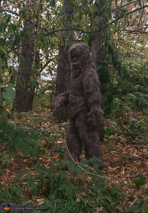 Sasquatch Homemade Costume