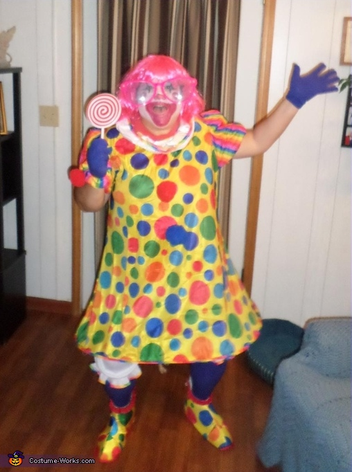 Sassy Clown Costume Contest