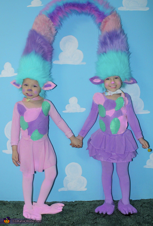 Satin & Chenille Costume