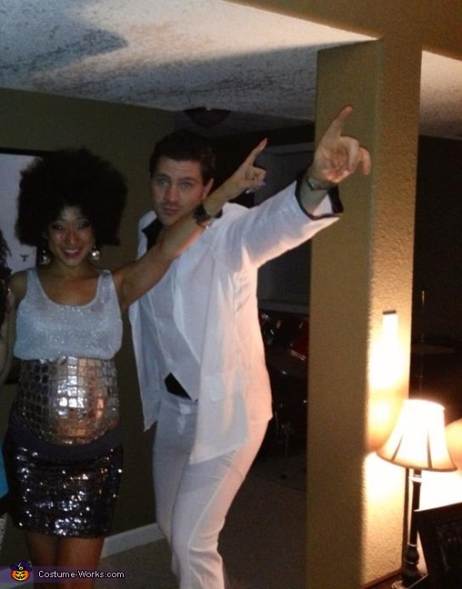 Saturday Night Fever Couple Costume