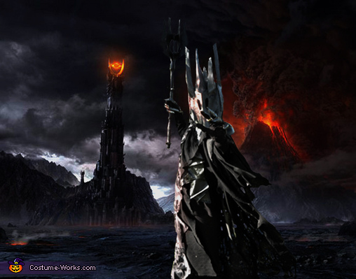 Sauron with a little photshop, Sauron - Lord of the Rings Costume