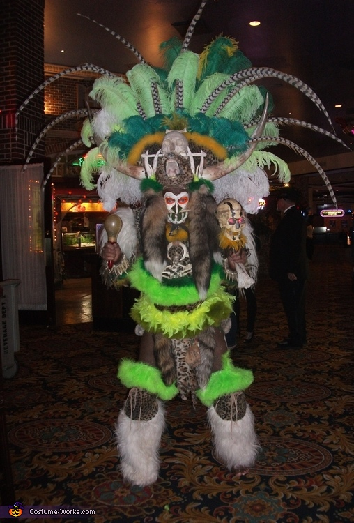 Savage Witchdoctor Costume