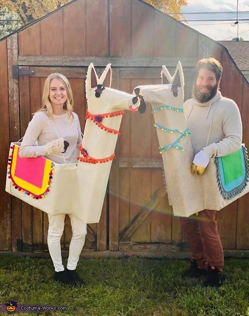 Save the drama for your llama Costume