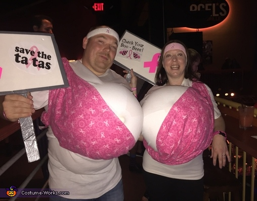 Save the Tatas Costume