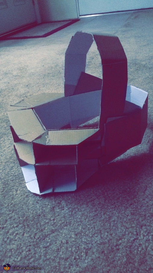 The cardboard foundation, SAW Reverse Bear Trap Costume